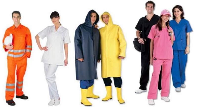 indumenti da lavoro personalizzati
