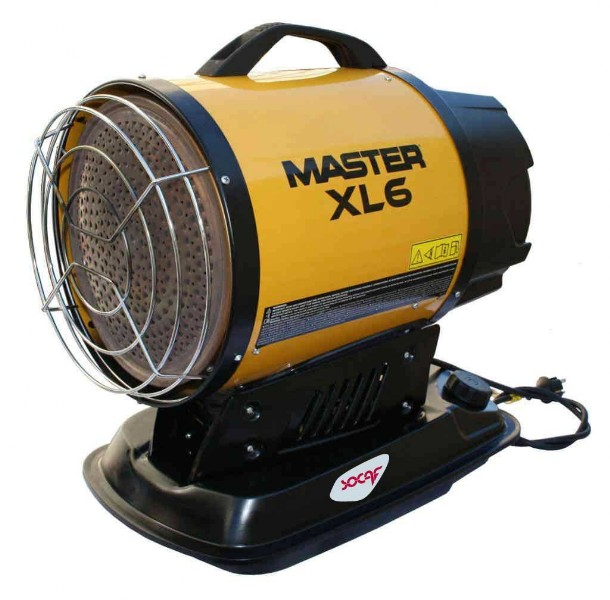Generatori di aria calda per un riscaldamento uniforme  Basta un attimo